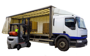 Deliveries / collections can be dealt with for you